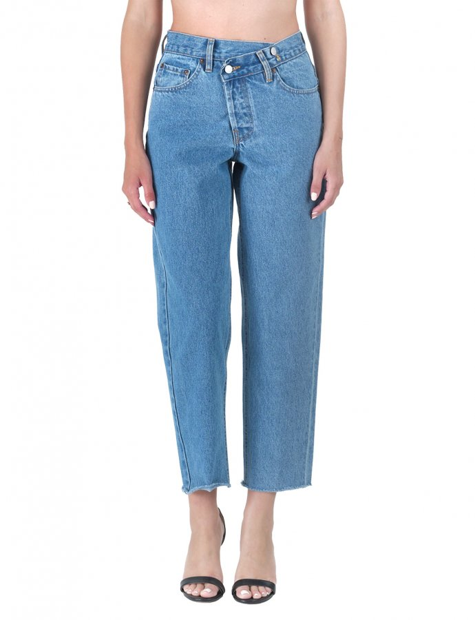 Barbara medium crooked denim pants