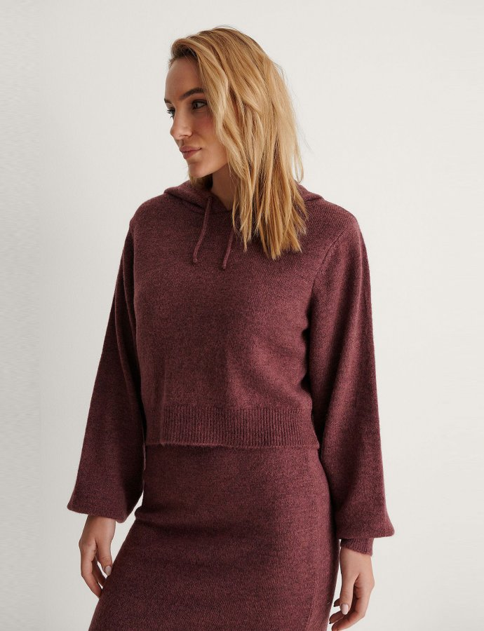 Basic purple hoodie