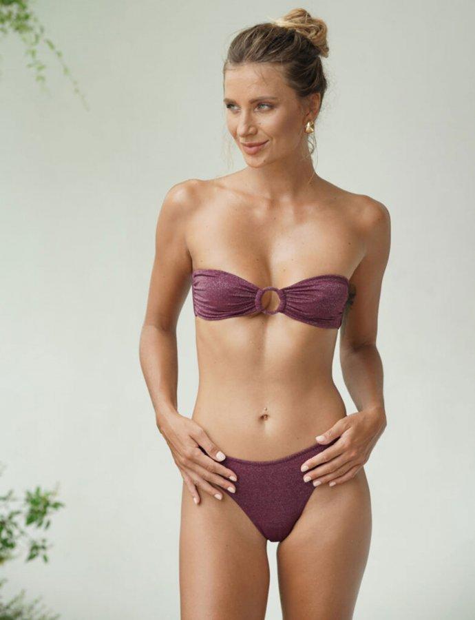 Chiara burgundy bikini