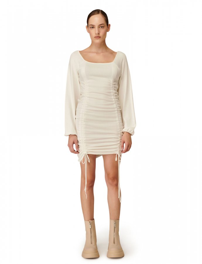 Combos W-115 White dress