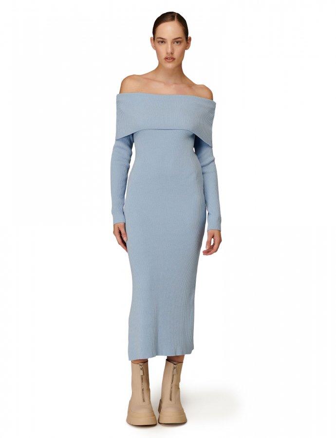 Combos W-105 Light blue dress