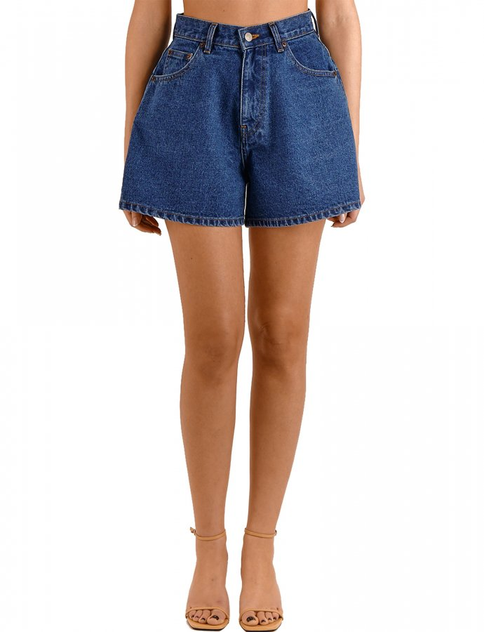 Carla S/W denim shorts
