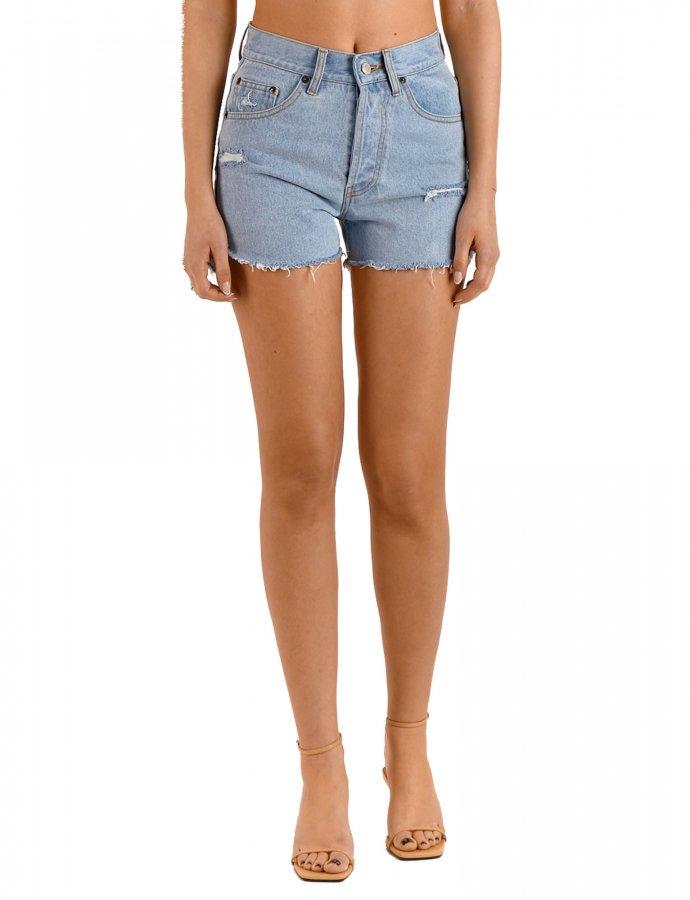 Chiara light Dance me denim shorts