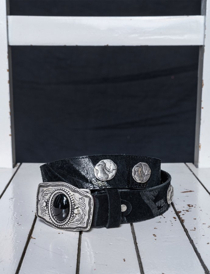 Coldplay belt black