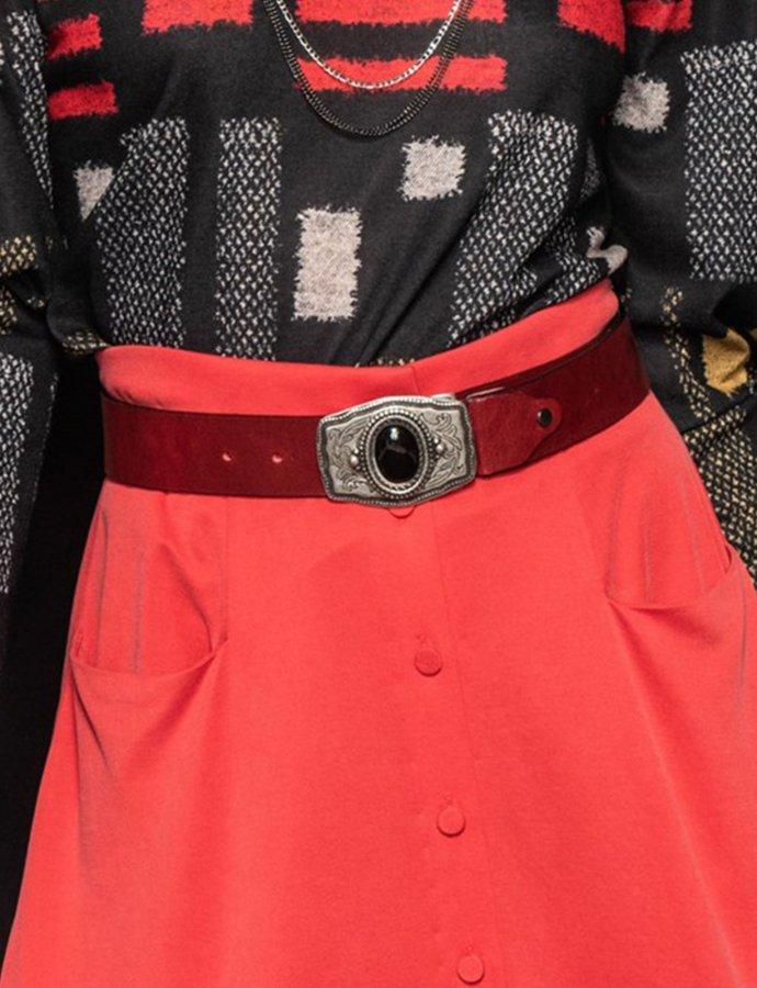 Coldplay belt  bordeaux