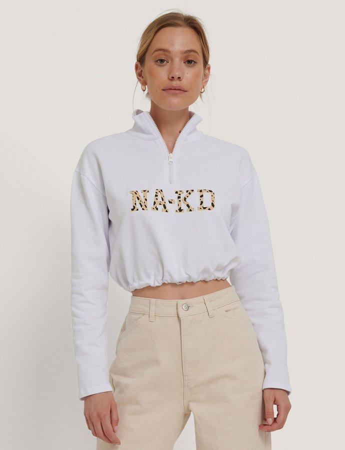 Cropped NA-KD sweater