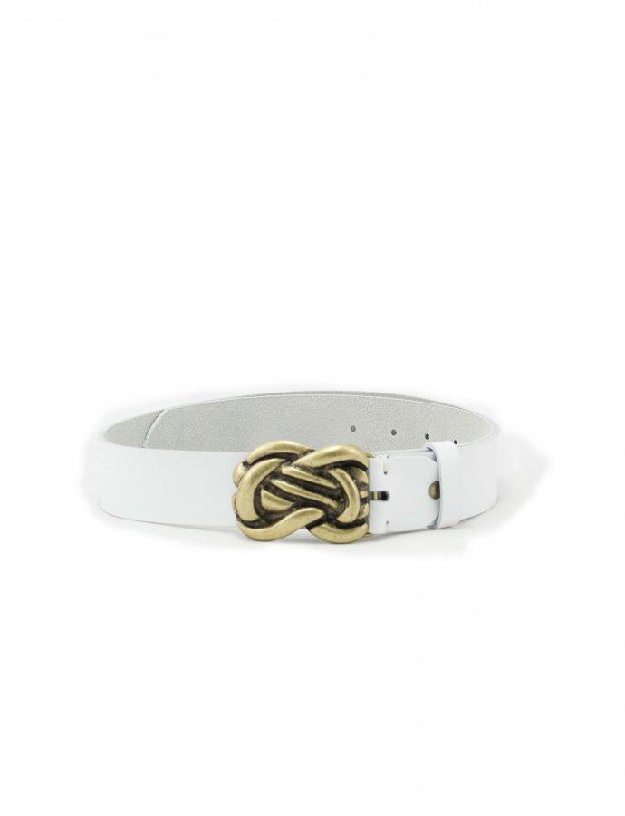 Human touch belt white