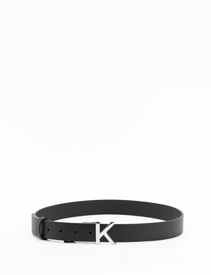 Leather soft KK belt black