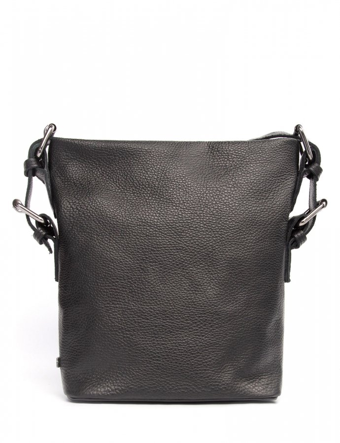 Day to evening pouch large black