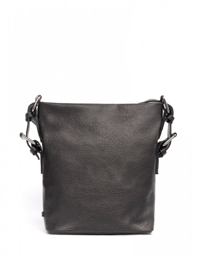 Day to evening pouch small black