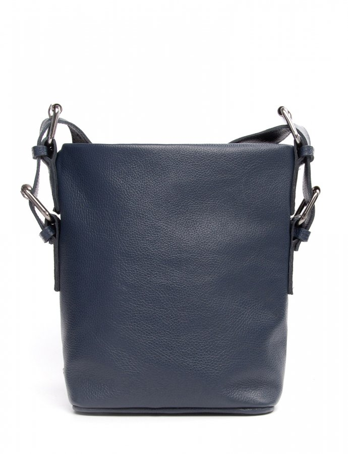 Day to evening pouch large blue