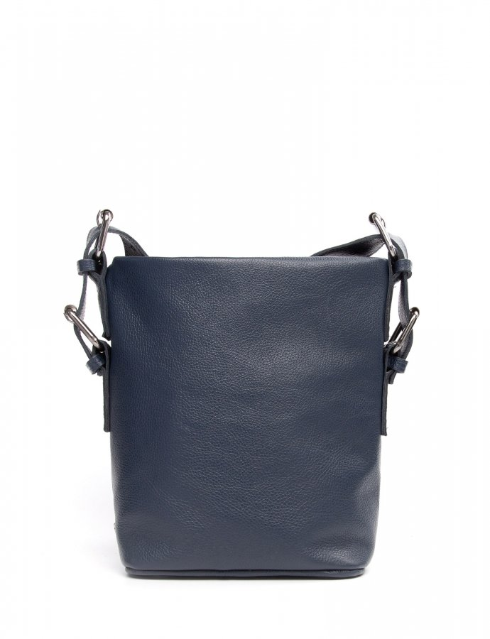Day to evening pouch small blue