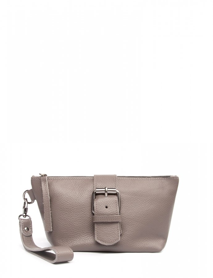 Day to evening clutch bag grey