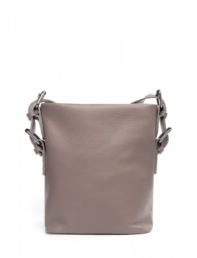 Day to evening pouch small grey