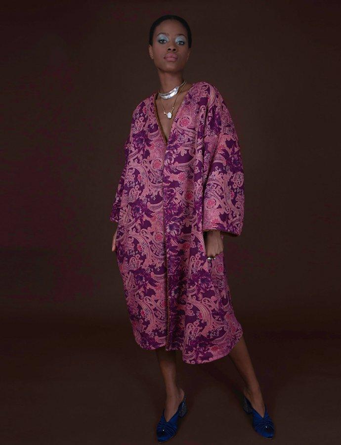 Endora purple cardigan