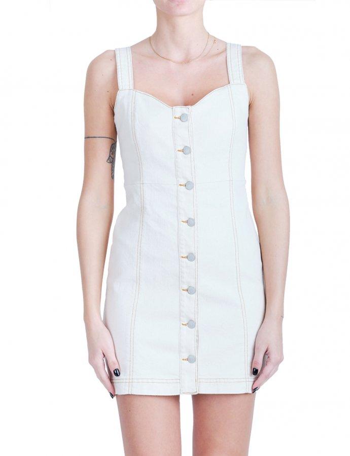 Elisa cream dress