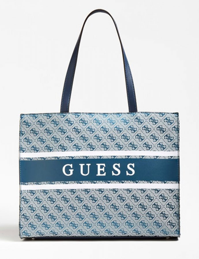 Monique shopper bag blue