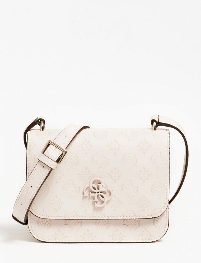 Noelle mini crossbody bag blush