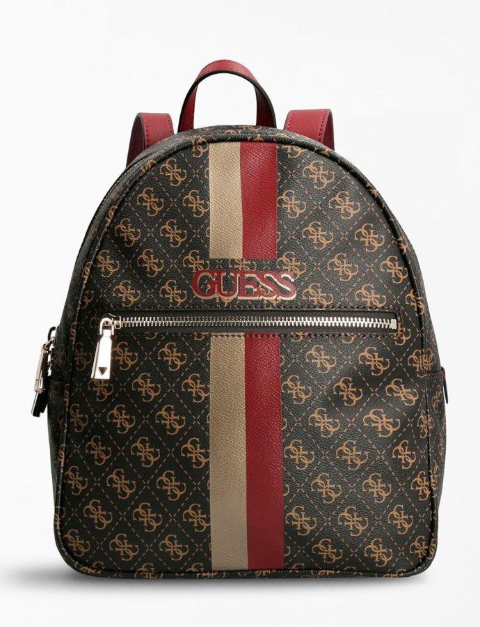Vikky 4G logo backpack brown/merlot