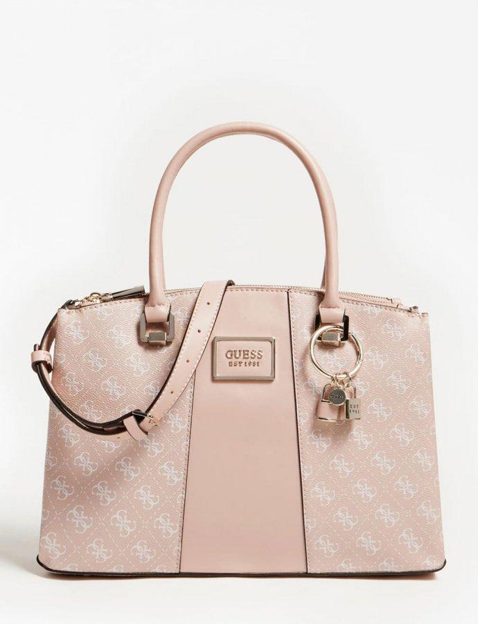 Tyren status satchel handbag blush