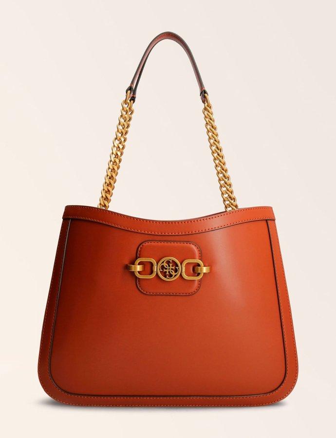 Hensely shopper bag whiskey brown
