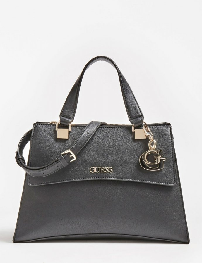 Dalma girlfriend satchel handbag black