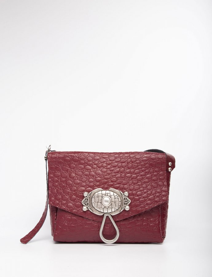 Casablanca burgundy bag