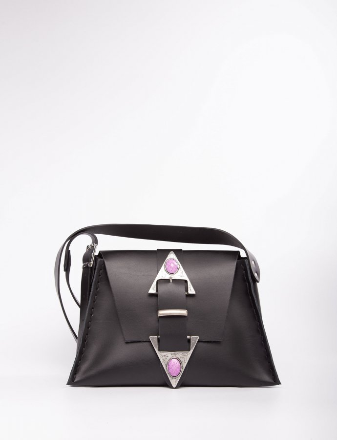Dance monkey black/purple bag