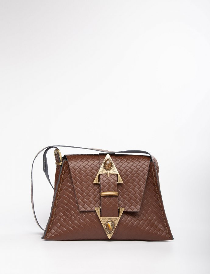 Dance monkey brown/bronze bag