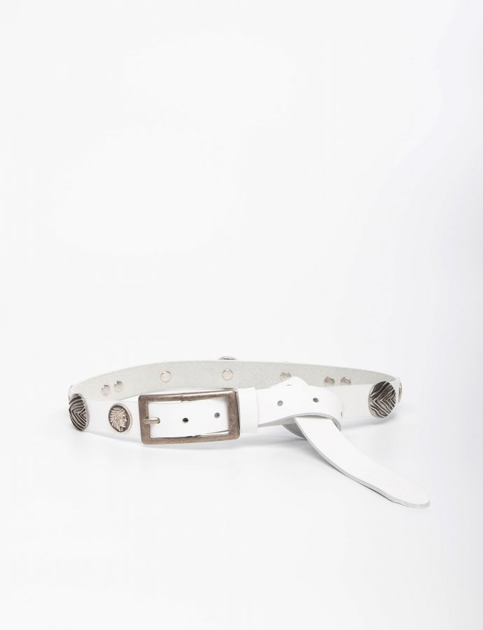 Indian summer white belt