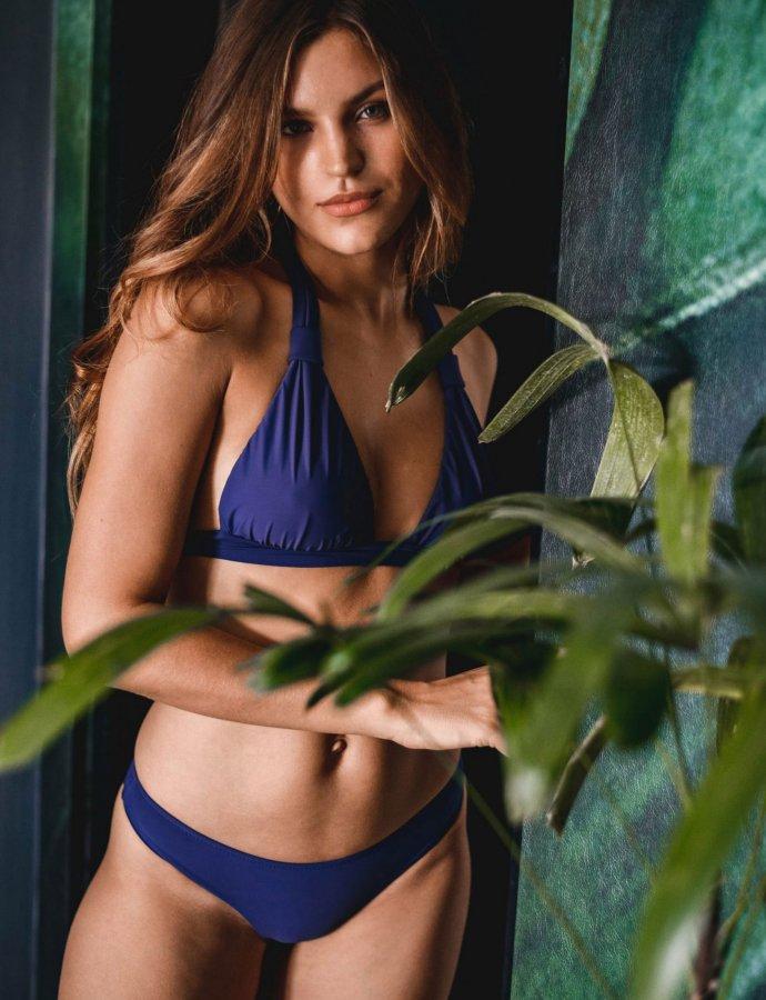 Iris bikini patriot blue