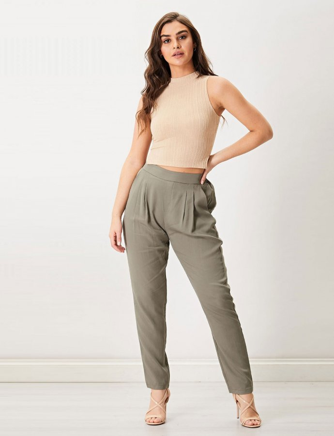 Julia khaki pants