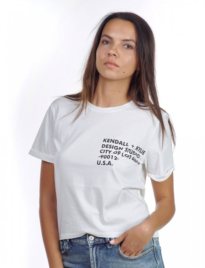 Classic logo t-shirt white
