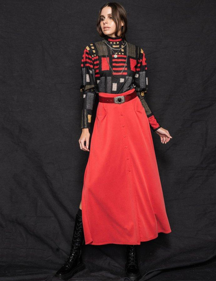 Kiss skirt red