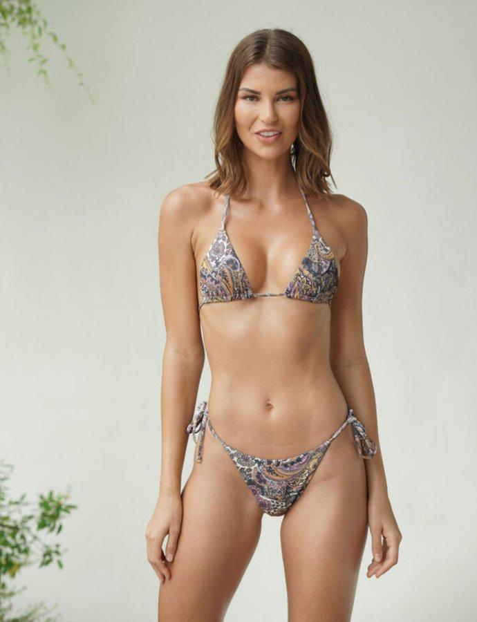 Leticia paisley bikini