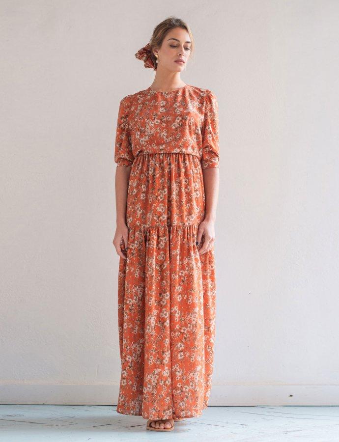 Lauter orange dress