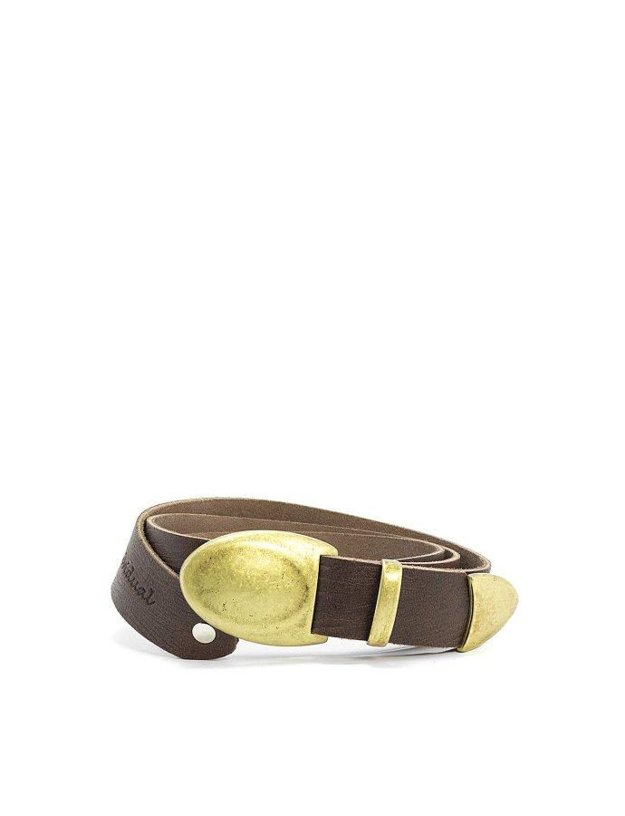 Let it be belt brown