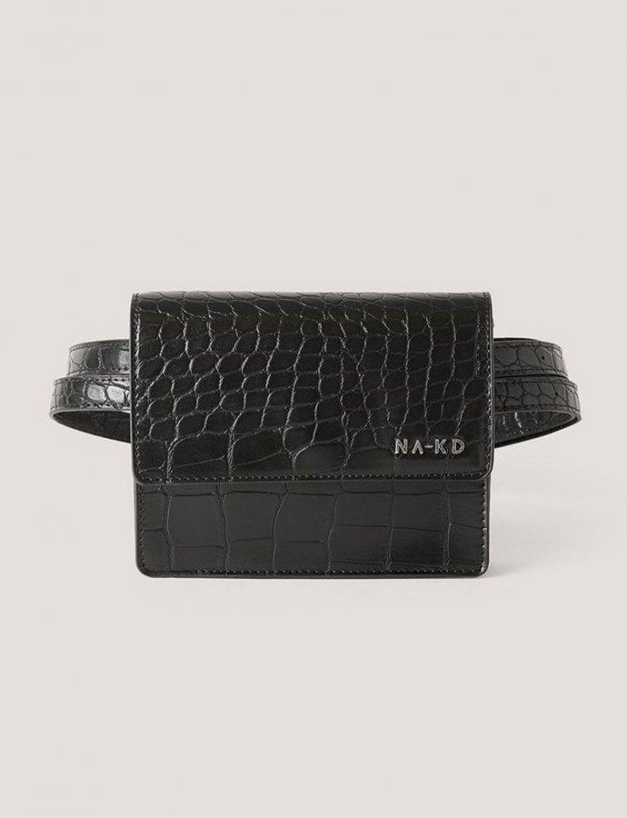Mini fanny pack black