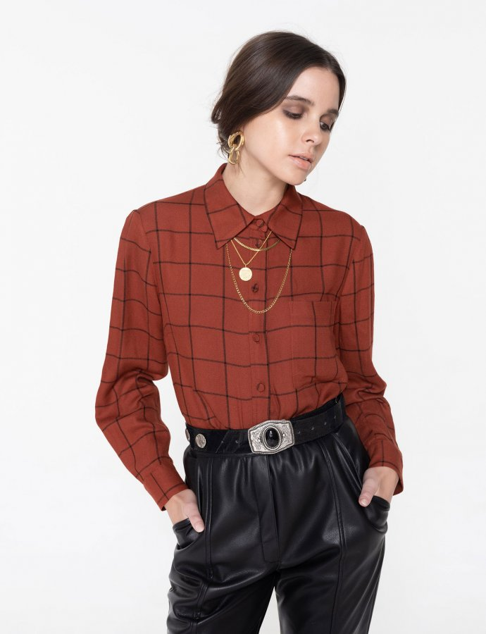 Oasis checkered shirt