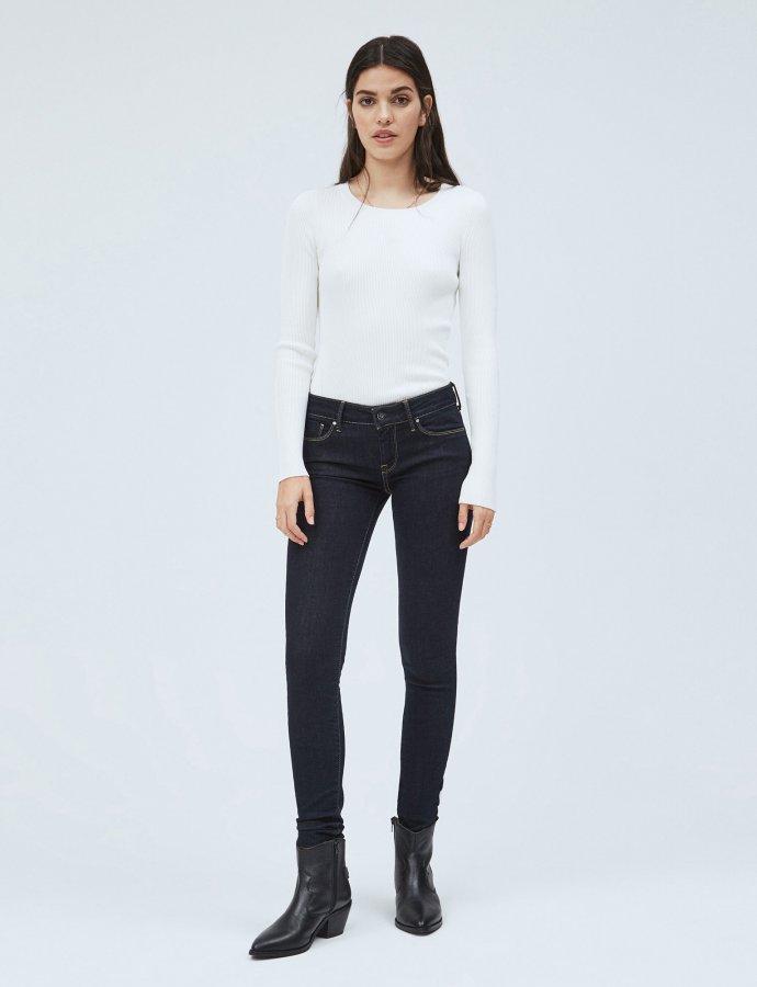 Soho skinny fit mid-waist jeans