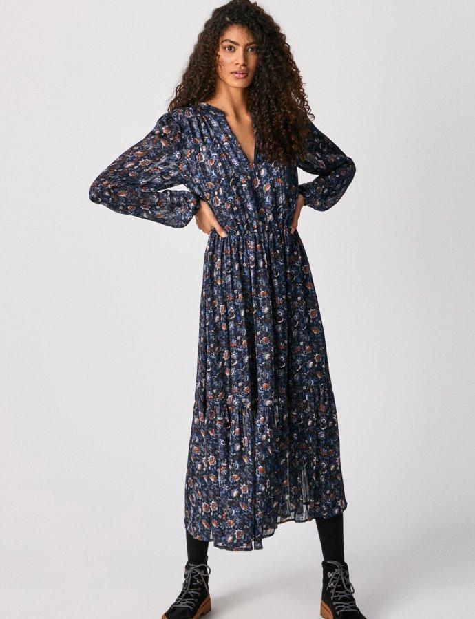Bianca long bohemian dress