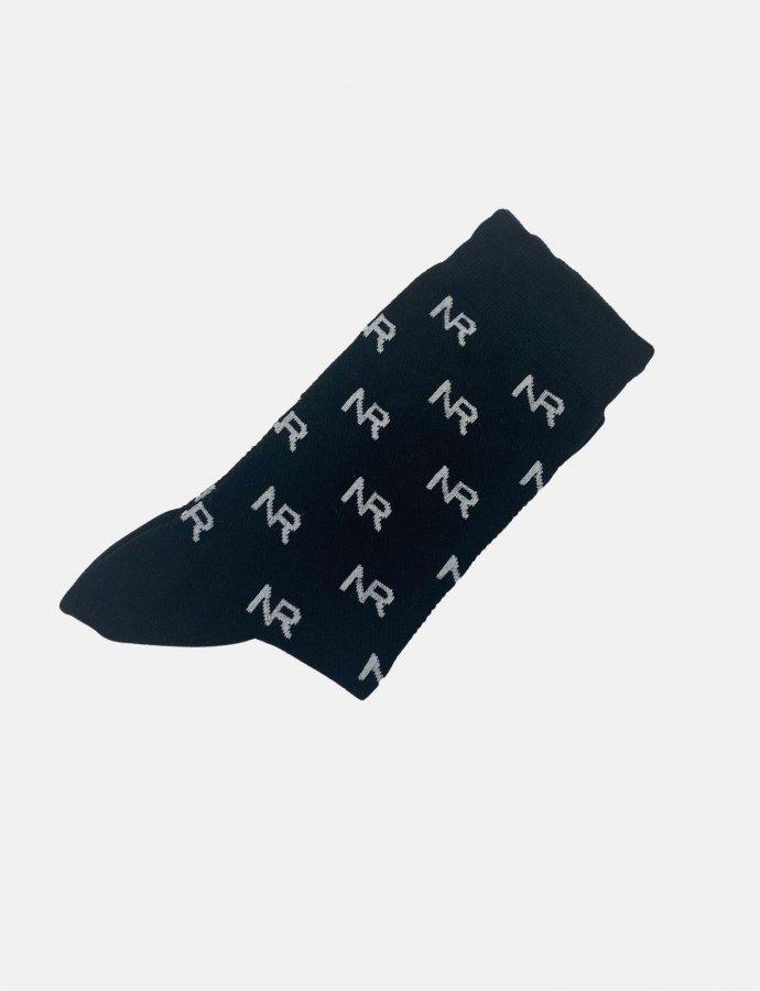 Full in logo socks black