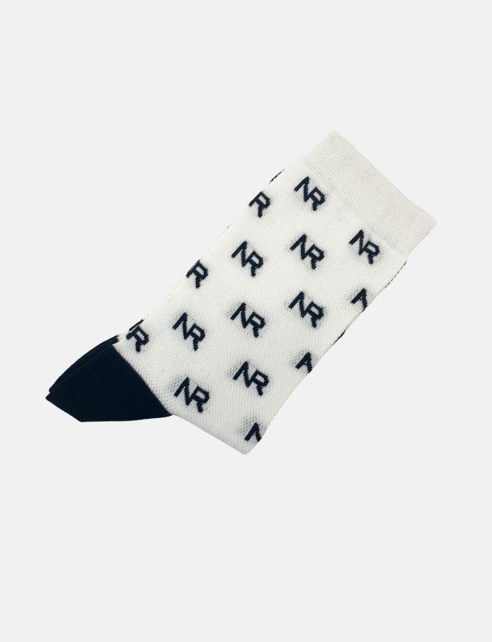 Full in logo socks white