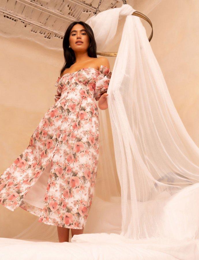 Levi pink dress