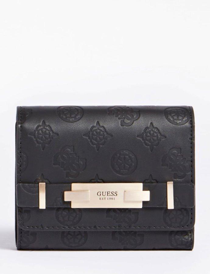 Bea trifold wallet black