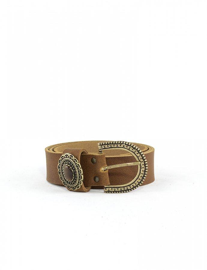 Shanti belt tanned