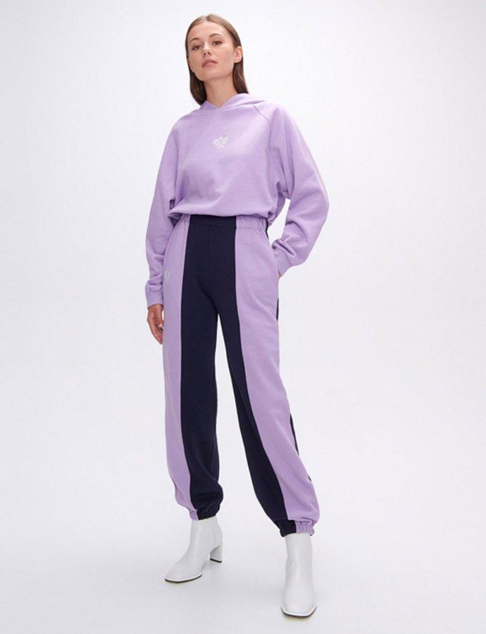 Nadine rackets dark blue/lilac track pants