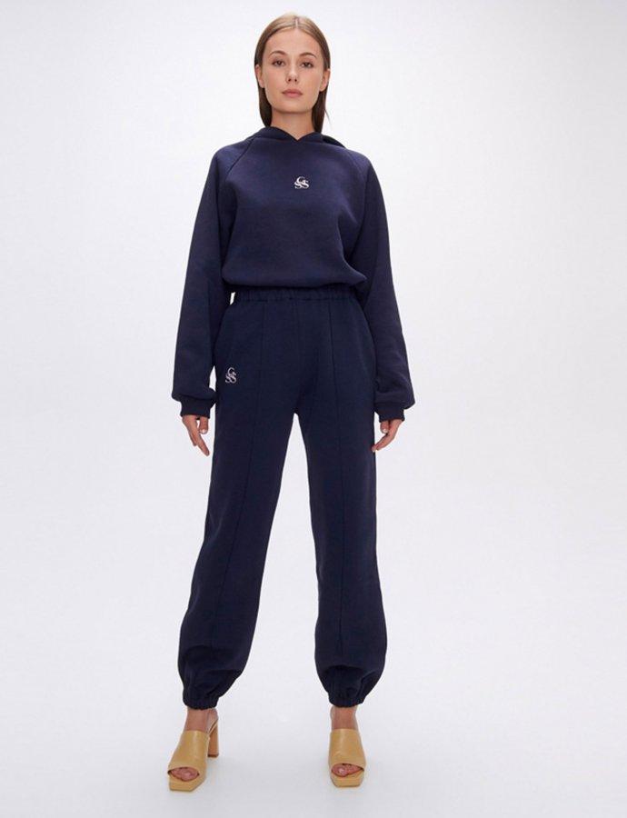 Nadine SSG dark blue track pants