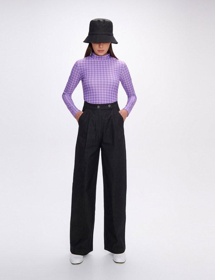Gina black eco jean pants