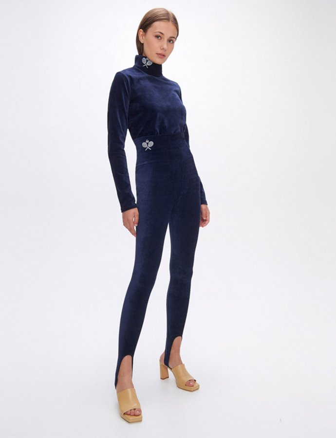 Dona dark blue leggings